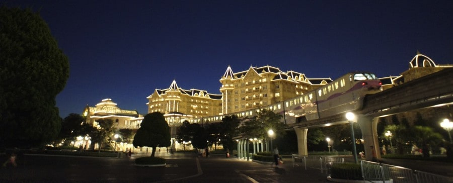 Goodnight from Tokyo Disneyland Hotel. (Photo credit : Junichi Hirane)