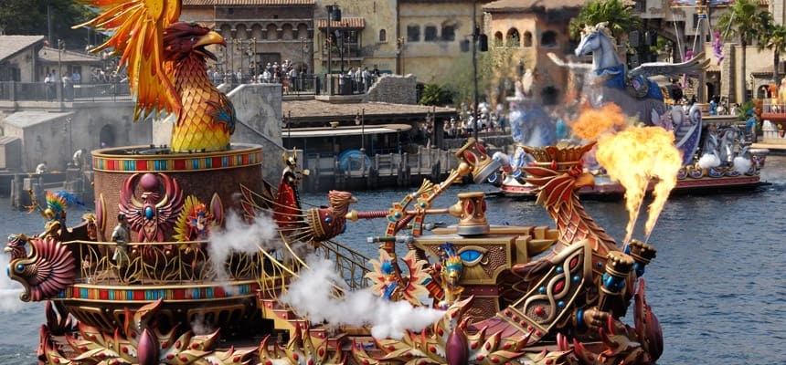 Tokyo Disney Resort Legend of Mythica Finale Meetup