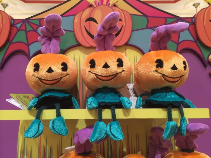 Pumpkin Girls from the Happy Halloween Harvest Parade Plush