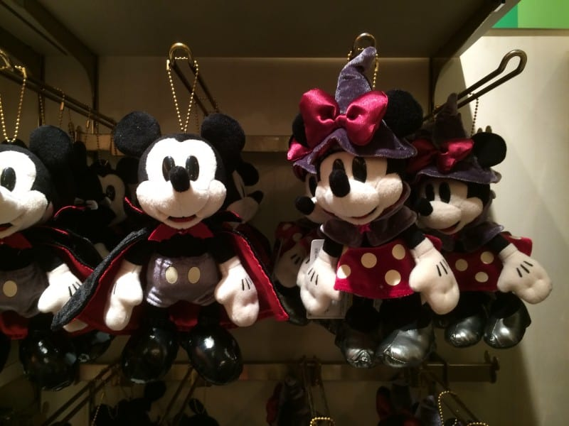 Vampire Mickey & Witch Minnie Plush