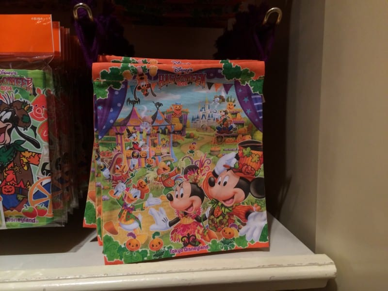 Disney's Halloween 2014 Drawstring Bag