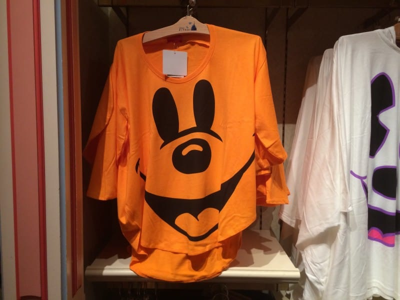 Orange Mickey Mouse Ghost Shirt