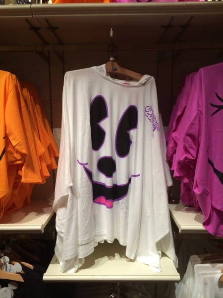 White Minnie Mouse Ghost Shirt