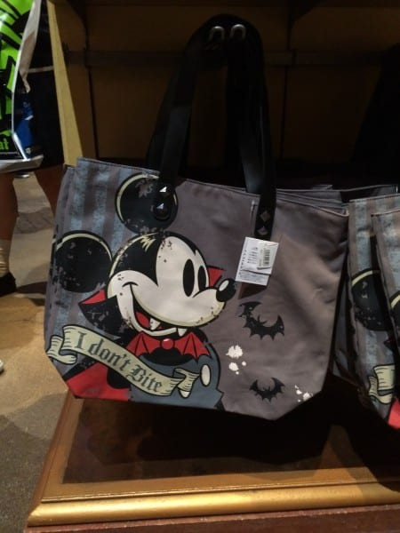 Vampire Mickey Mouse Tote Bag