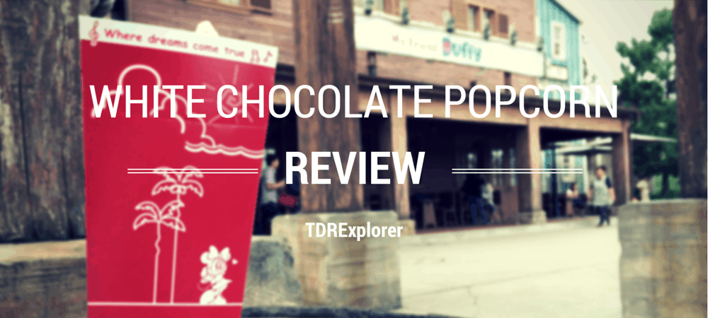 White Chocolate Popcorn Review