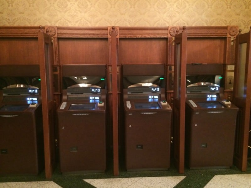 ATMs located inside Tokyo Disneyland Park