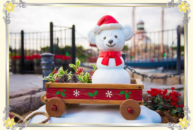 Duffy Christmas Decorations at Tokyo DisneySea
