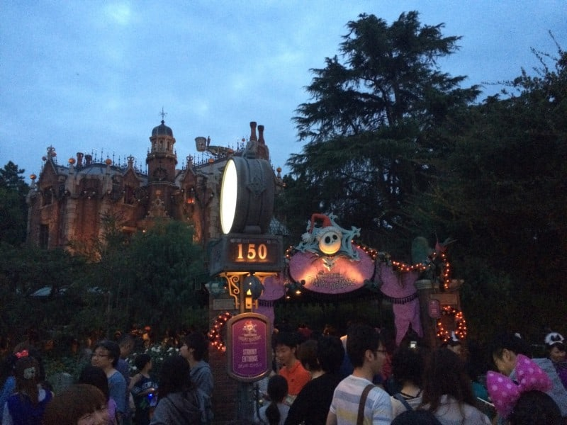 Haunted Mansion Holiday Nightmare at Tokyo Disneyland