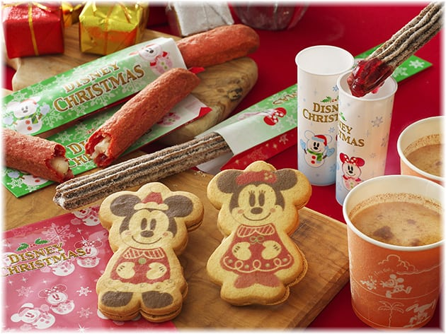 Drinks and Sweets at Tokyo Disneyland Christmas Fantasy 2014