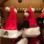 Mickey Mouse Santa Hat Ears Christmas Fantasy 2014