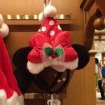 Minnie Mouse Santa Hat Ears Christmas Fantasy 2014