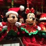 Mickey and Minnie Christmas Fantasy 2014 Plush