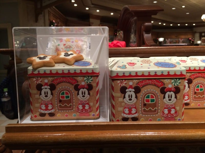 Star Cookies in Gingerbread Tin Christmas Omiyage Gifts 2014