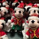 Christmas Fantasy 2014 Mickey Plush