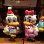 Donald and Daisy Plush Straps Christmas Fantasy 2014
