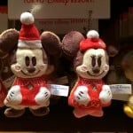 Mickey and Minnie Gingerbread Plush Straps Christmas Fantasy 2014