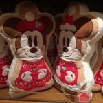 Mickey and Minnie Gingerbread Plush Pillows Christmas Fantasy 2014