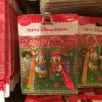 Donald and Daisy Keychain Christmas Fantasy 2014