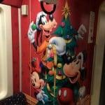 Tokyo Disney Resort Monorail Christmas 2014