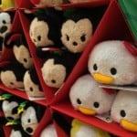 Christmas Tsum Tsum Display at the Disney Store