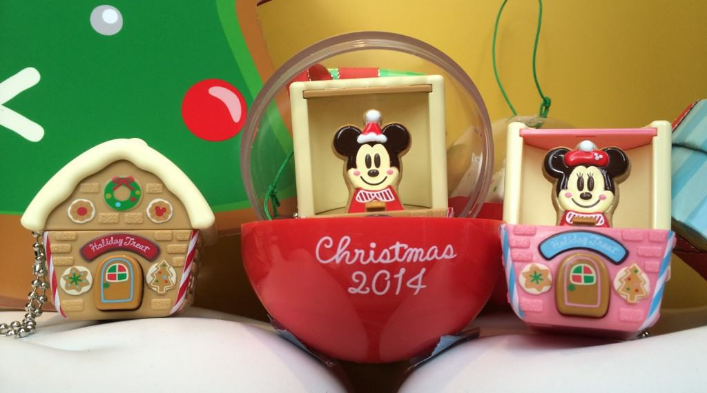 Grab Christmas Gachapon at Tokyo Disney Resort