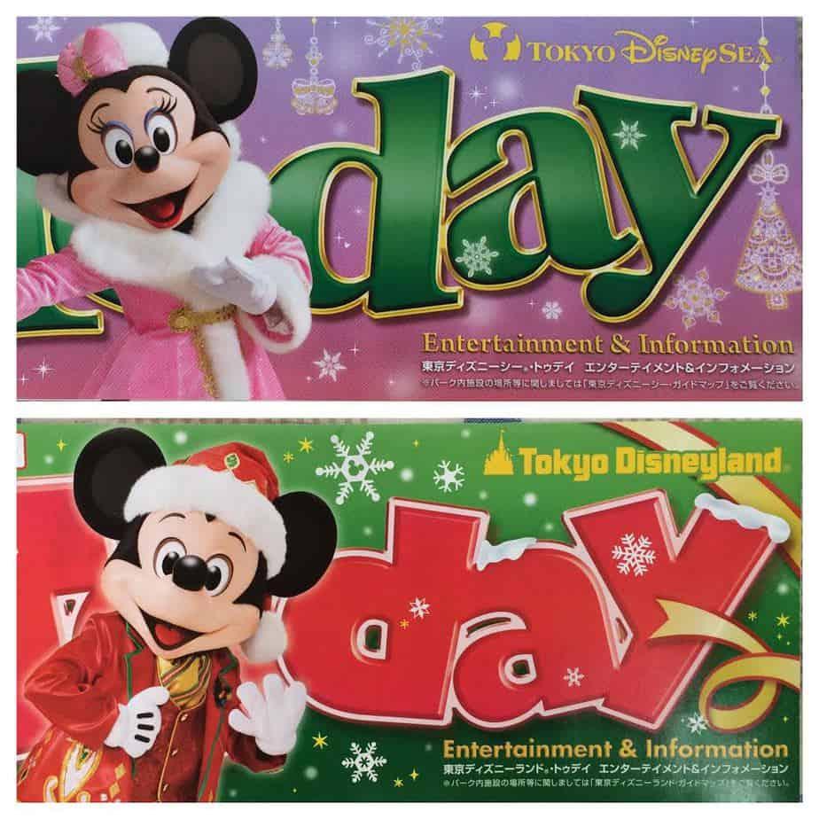 November 2014 Tokyo Disney Resort Park Maps