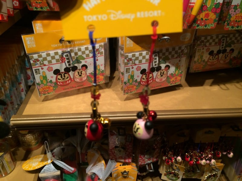 Mickey and Minnie Phone Straps New Years 2015 Tokyo Disney Resort