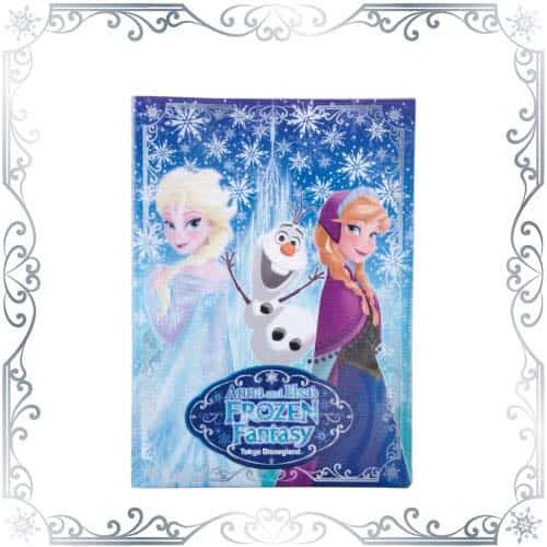 Double Pocket Holder Anna and Elsa Frozen Fantasy Tokyo Disneyland