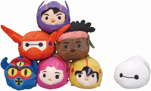 Limited Big Hero 6 Tsum Tsums at Japan Disney Store