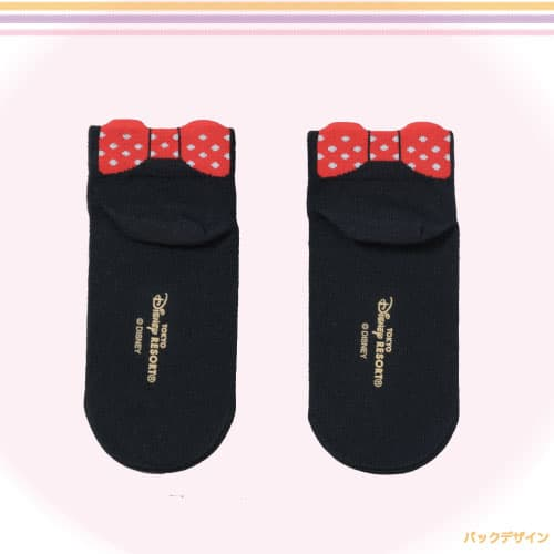 Minnie Black Socks back Tokyo Disney Resort