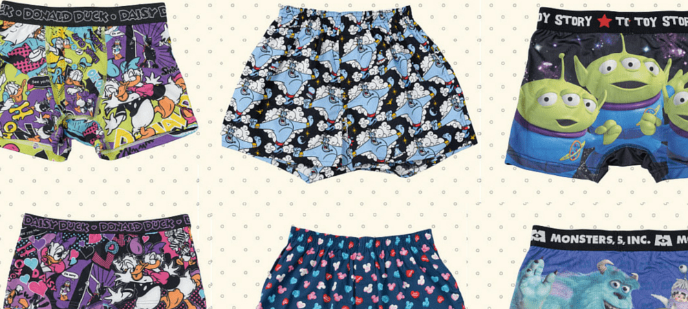 New Adorable Disney Underwear at Tokyo Disney Resort