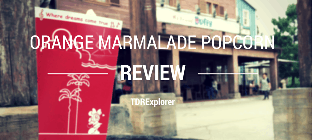 Orange Marmalade Popcorn Review