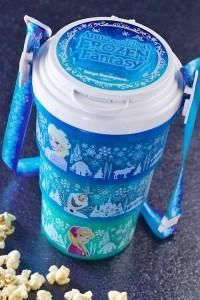 Popcorn Bucket Anna and Elsa Frozen Fantasy Tokyo Disneyland