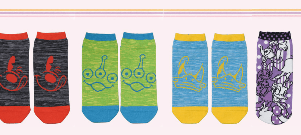 New Adorable Socks Available at Tokyo Disney Resort