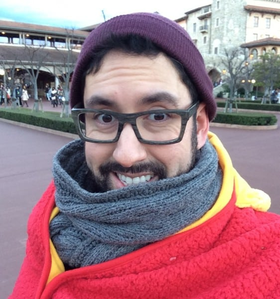 Staying Warm at Tokyo Disney Resort During Winter