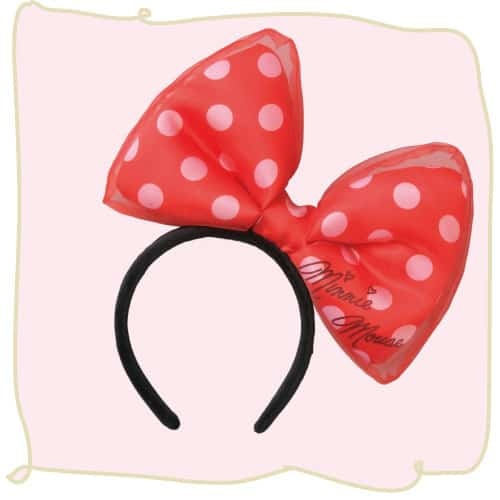 Minnie Mouse Headband Red