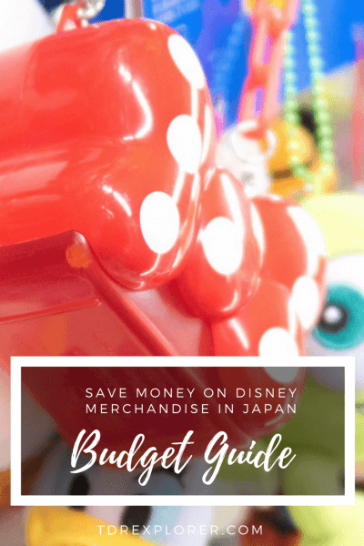 Budget Guide Disney Merchandise Japan Pinterest