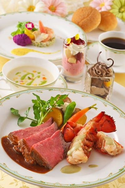 SS Columbia Special Lobster Set Desserts Disney's Easter 2015 Tokyo DisneySea