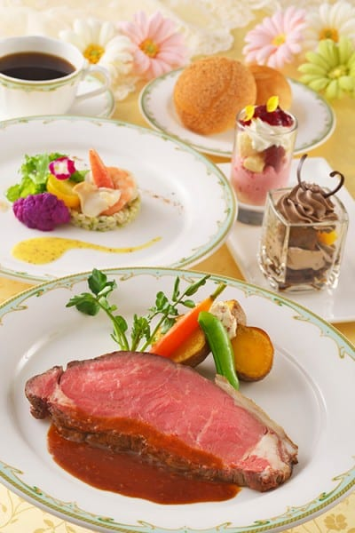 SS Columbia Special Set Desserts Disney's Easter 2015 Tokyo DisneySea