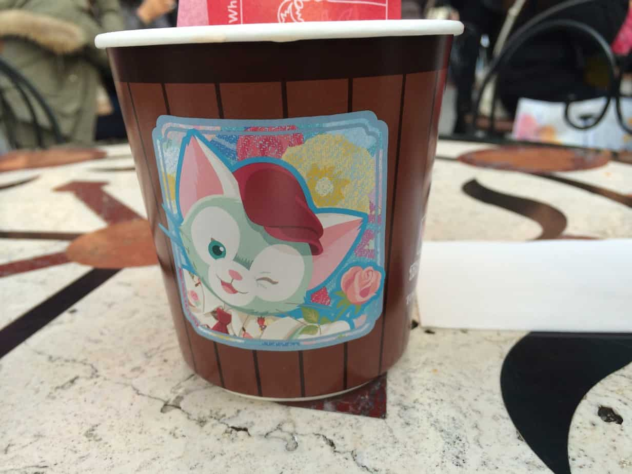 Sweet Duffy Italian Hot Chocolate At Tokyo Disneysea Gelatoni Tdr Explorer