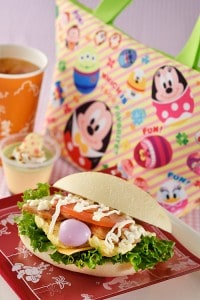 Teriyaki Chicken with Lunch Case Disney's Easter 2015 Tokyo Disney Resort