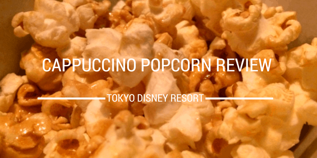 Cappuccino Popcorn Review