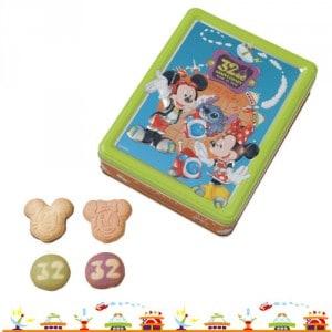Cookies Tokyo Disneyland 32nd Anniversary
