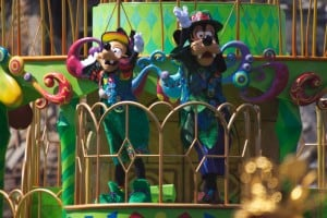 Fashionable Easter at Tokyo DisneySea Goofy and Max