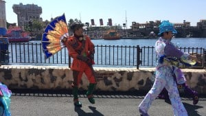 Fashionable Easter at Tokyo DisneySea Male Dancer Mysterious Island New Costume