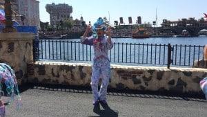 Fashionable Easter at Tokyo DisneySea Male Mermaid Lagoon Dancer