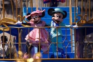 Fashionable Easter at Tokyo DisneySea Mickey and Minnie