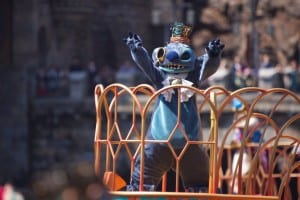 Fashionable Easter at Tokyo DisneySea Stitch