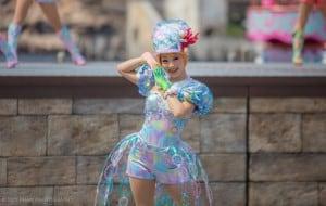 Mermaid Lagoon Performer Costume Upclose
