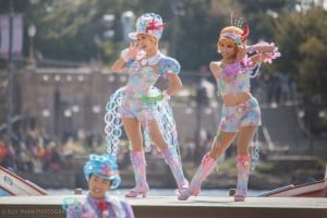 Mermaid Lagoon Performer Costumes Upclose Male and Female